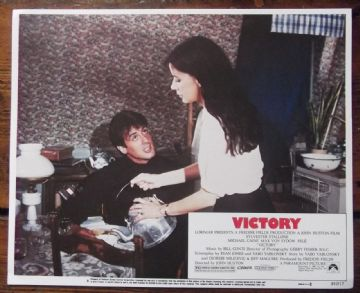 Escape to Victory, Original Lobby Card #6, Sylvester Stallone, 1981